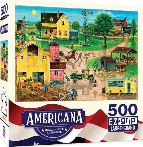 Puzzles #32005 Americana