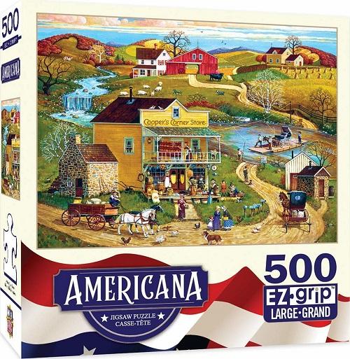 Puzzles #32006 Americana