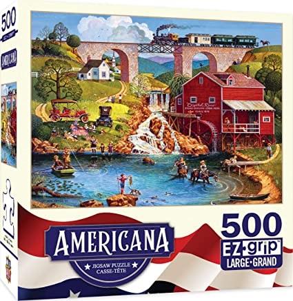 Puzzles #32007 Americana