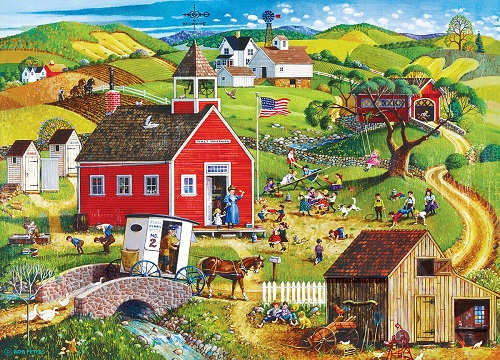 Puzzles #32008 Americana