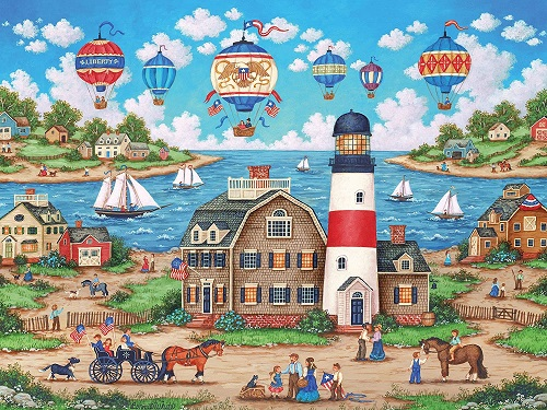 Puzzles #32049 Heartland Collection