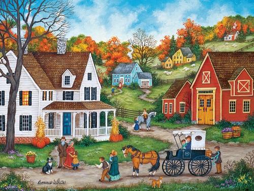 Puzzles #32074 Heartland Collection