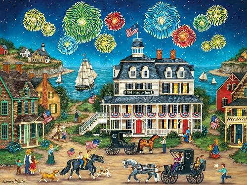 Puzzles #32073 Heartland Collection