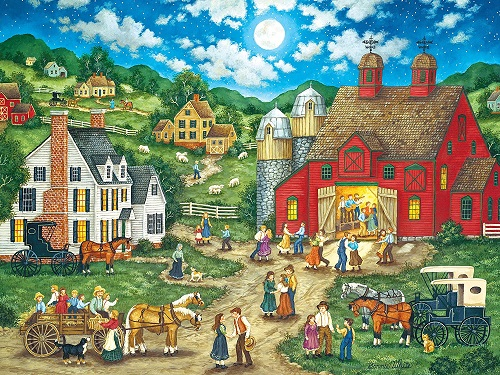 Puzzles #31562 Heartland Collection