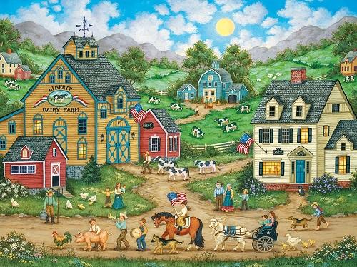 Puzzles #31836 Heartland Collection