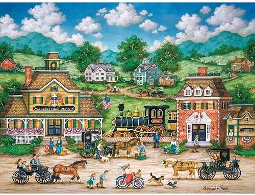 Puzzles #32135 Heartland Collection