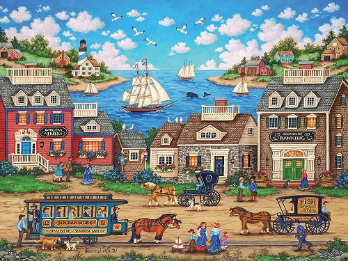 Puzzles #32050 Heartland Collection
