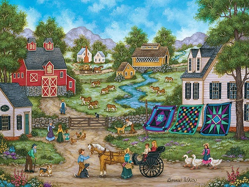 Puzzles #31682 Heartland Collection
