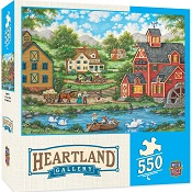 Puzzles #31837 Heartland Collection