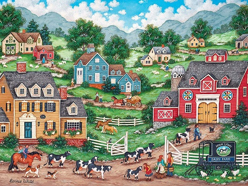 Puzzles #31981 Heartland Collection