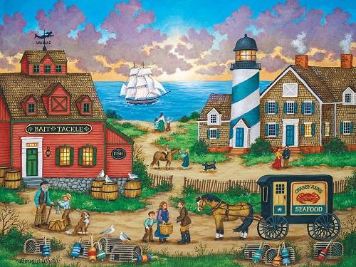 Puzzles #31838 Heartland Collection