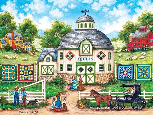 Puzzles #31979 Heartland Collection