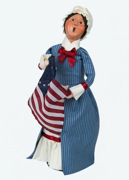 Byers' Choice #554W Betsy Ross