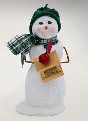SnowmanWithBirdfeederLittle