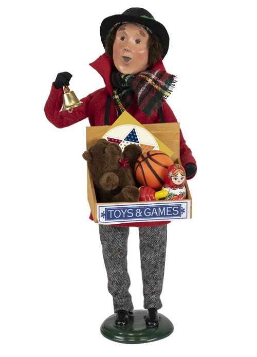 Byers' Choice #4840 Toy Vendor