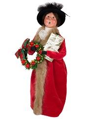 VictorianWomanWithGiftLittle