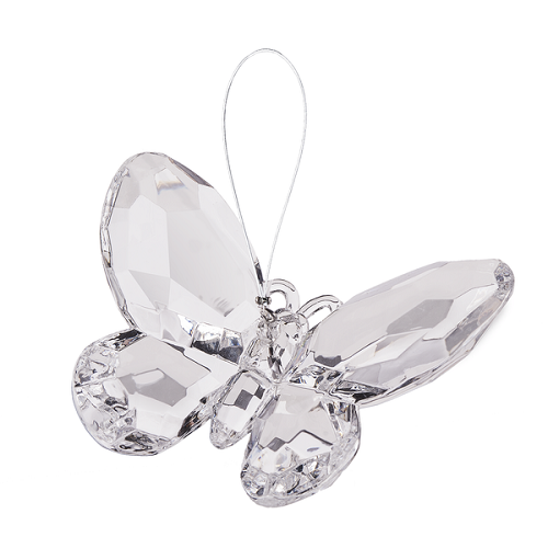 Crystal Expressions by Ganz: Birthstone Butterfly Ornament #ACRY-421 (April)