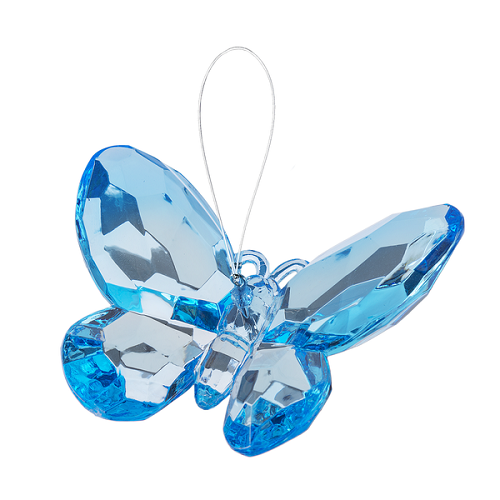 Crystal Expressions by Ganz: Birthstone Butterfly Ornament (December)