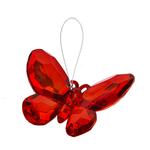 Crystal Expressions by Ganz: Birthstone Butterfly Ornament #ACRY-421 (January)