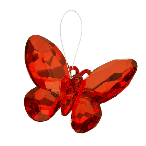Crystal Expressions by Ganz: Birthstone Butterfly Ornament #ACRY-421 (July)