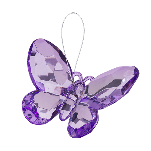 Crystal Expressions by Ganz: Birthstone Butterfly Ornament #ACRY-421 (June)