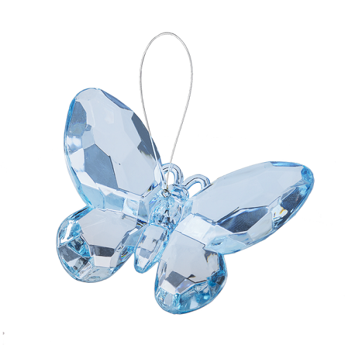Crystal Expressions by Ganz: Birthstone Butterfly Ornament #ACRY-421 (March)
