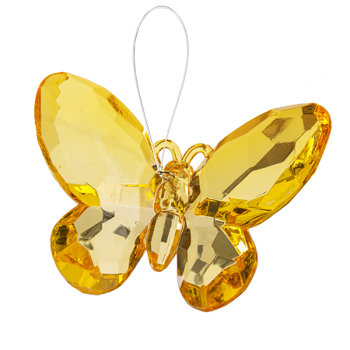 Crystal Expressions by Ganz: Birthstone Butterfly Ornament #ACRY-421 (November)