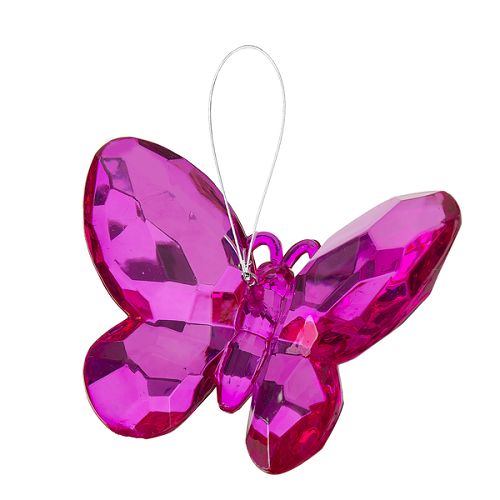Crystal Expressions by Ganz: Birthstone Butterfly Ornament #ACRY-421 (October)