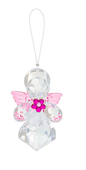 Crystal Expressions by Ganz: Daisy Angel Ornament #ACRY-752 (Number 1)