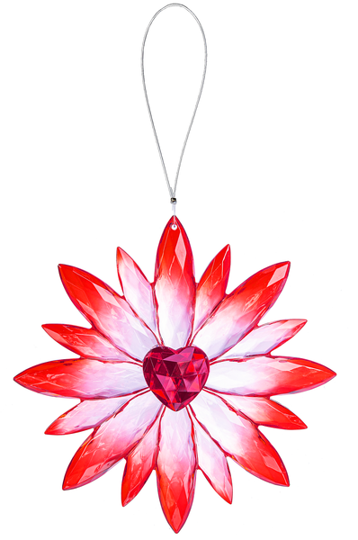 Crystal Expressions by Ganz: Daisy Love Ornament #ACRYV-89 (Number 1)