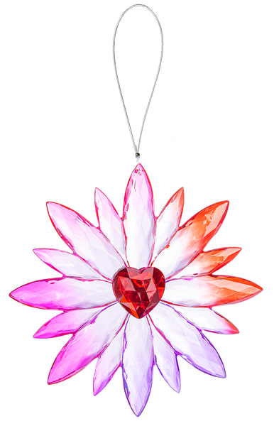 Crystal Expressions by Ganz: Daisy Love Ornament #ACRYV-89 (Number 2)