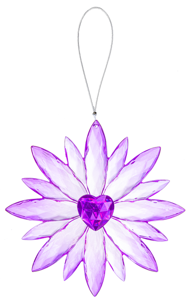 Crystal Expressions by Ganz: Daisy Love Ornament #ACRYV-89 (Number 4)