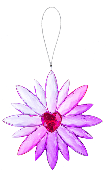 Crystal Expressions by Ganz: Daisy Love Ornament #ACRYV-89 (Number 5)