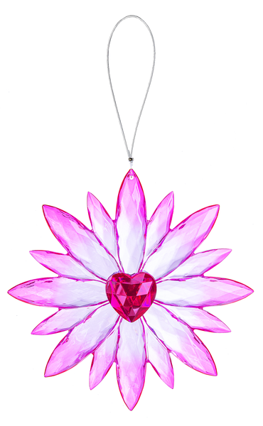 Crystal Expressions by Ganz: Daisy Love Ornament #ACRYV-89 (Number 6)