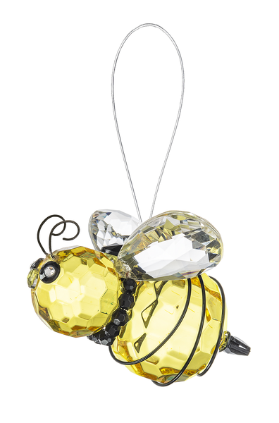 Crystal Expressions by Ganz: Queen Bee Ornament #ACRY-502