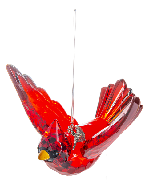 Crystal Expressions by Ganz: Radiant Cardinal Ornament #ACRY-743