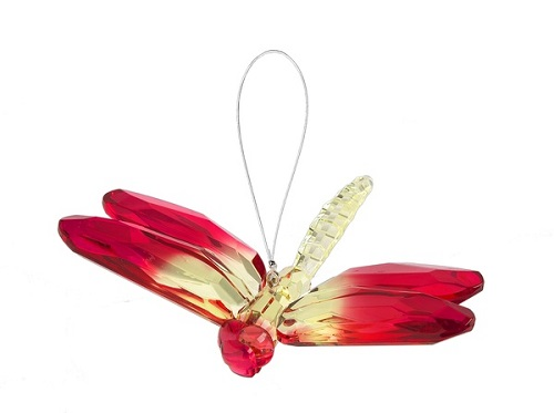 Crystal Expressions by Ganz: Hanging Two-Toned Dragonfly #ACRY-112 (Number 4)