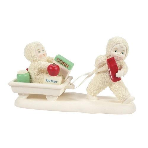 Dept. 56 Snowbabies #6008633 Delivering Kindness