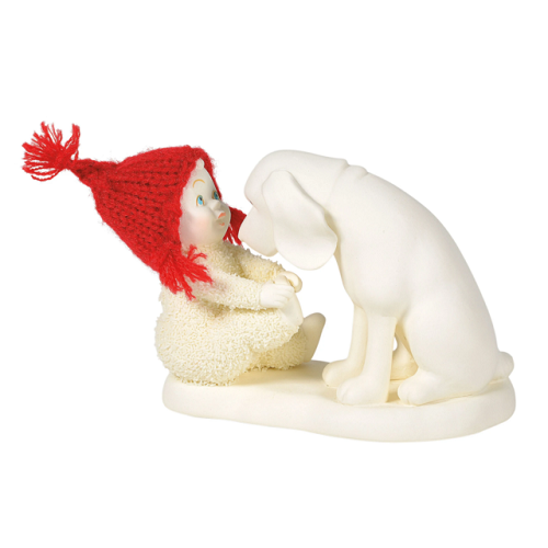 Dept. 56 Snowbabies #6005798 Puppy Dog Eyes
