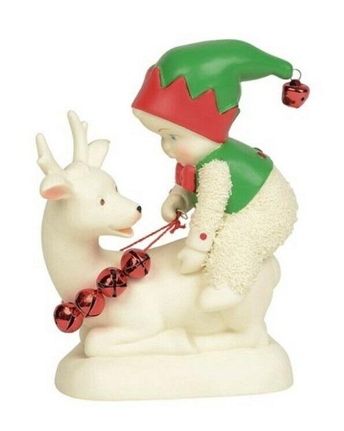 Dept. 56 Snowbabies #6004216 Quit Elfin' Around!