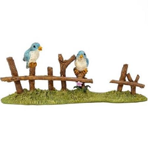 Topland #4781 Birds on Fence