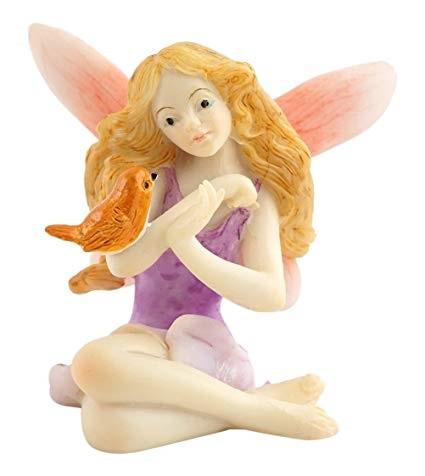 Topland #4427 Fairy with Bird