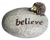 Topland #4471 Hedgehog Stone: