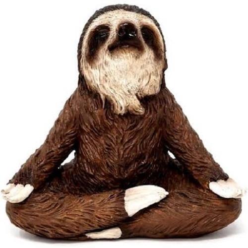 Topland #4772 Meditating Sloth