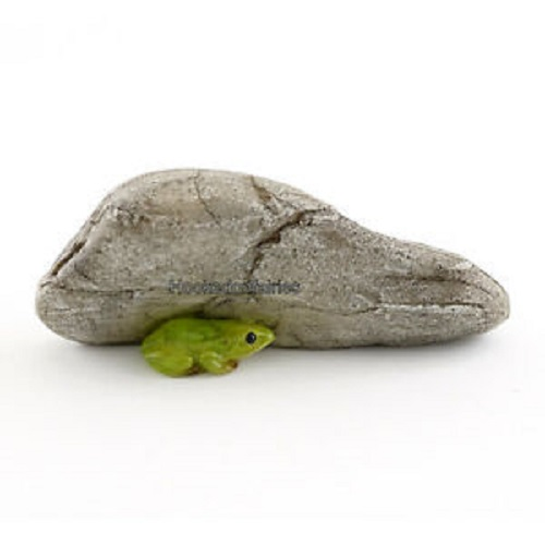Topland #4442 Mini Frog Under Rock