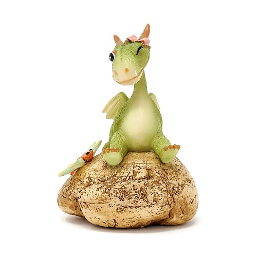 Topland #4750 Mini Girl Dragon Emberz with Dragonfly