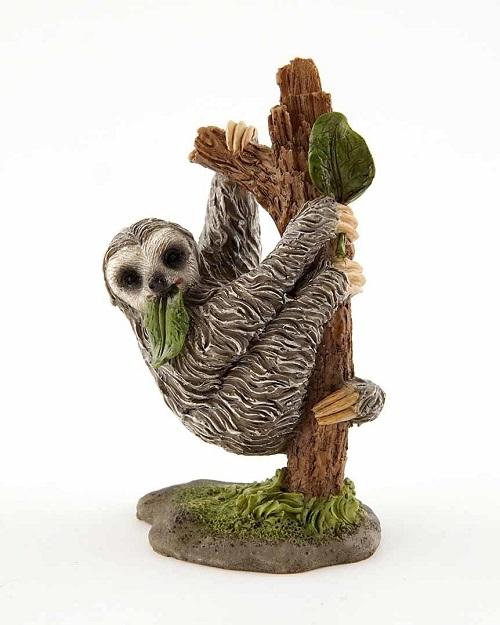 Topland #4631 Sloth Hanging on Tree