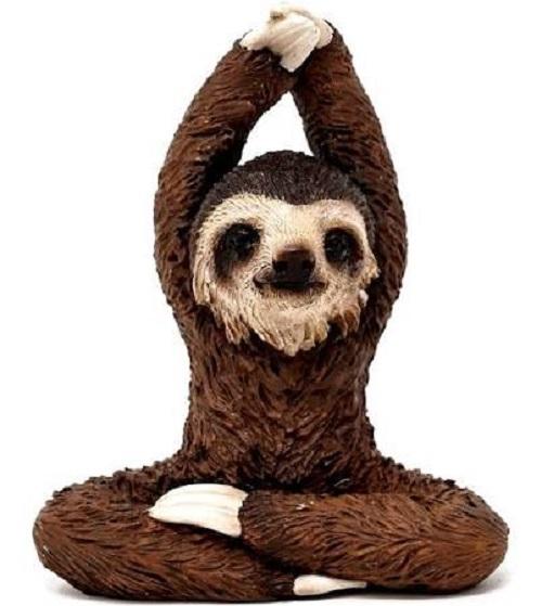 Topland #4770 Yoga Sloth