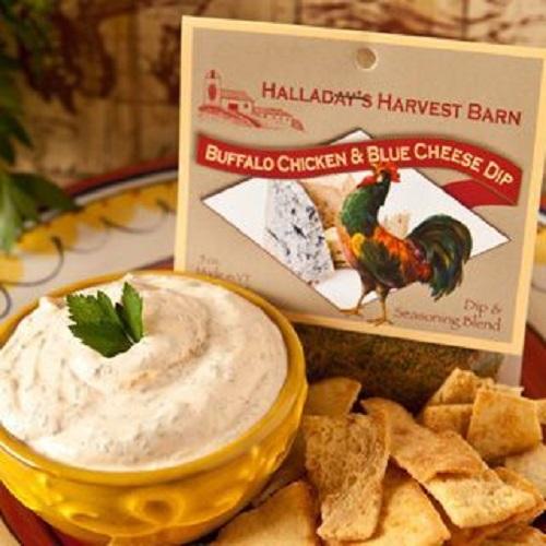 Halladay's Buffalo Chicken & Blue Cheese Dip