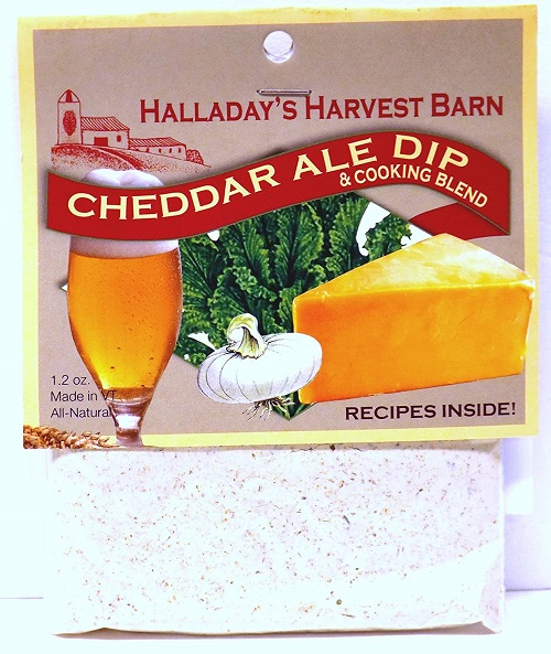 Halladay's Cheddar Ale Dip & Cooking Blend